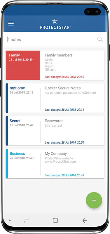 Keep your Note private with iLocker Secure Notes on Android